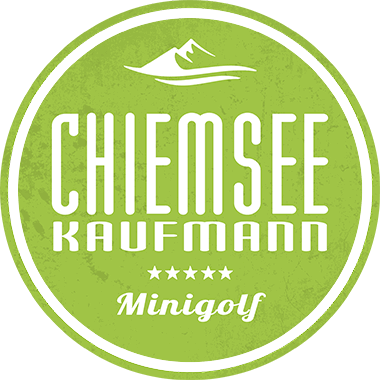 Logo Chiemsee Kaufmann Minigolf
